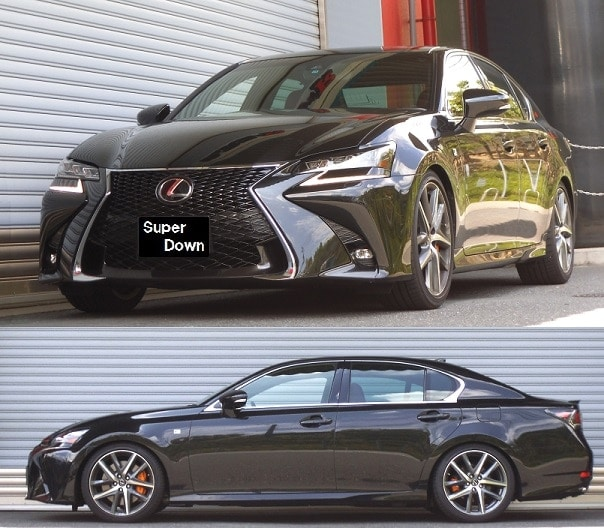 2014 Lexus Gs350: Lexus GS350 RWD Superdown Sus Springs 2013+